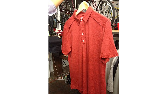 An example of one of the Merino wool jerseys in the New Road collection