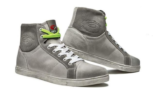 The Sidi Insider in gray.