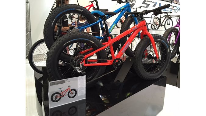 The Square 20 and Square 24 kids' fat bikes