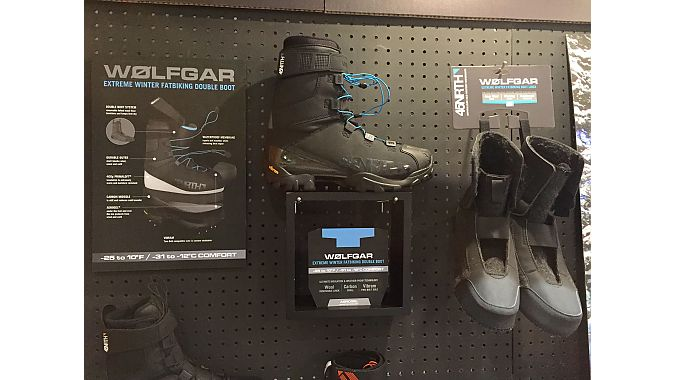 Some brands unveiled new products, including 45NRTH, which showed its new Wolfgar expedition boot, designed for extreme temperatures. It will be available in December, retailing for $450.