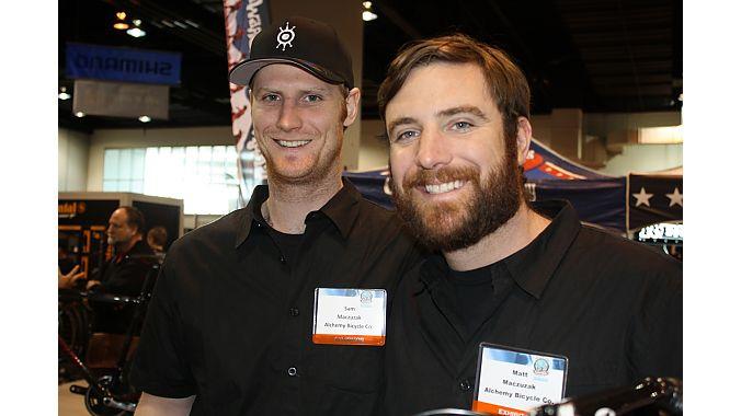 Alchemy Bicycles: Sam and Matt Macuczak