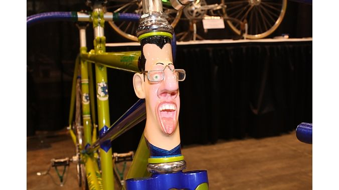 Baylis headtube was said to resemble famous bike painter Joe Bell.