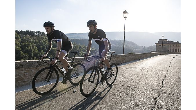 The Alpe d'Huez is Time's new climbing model.
