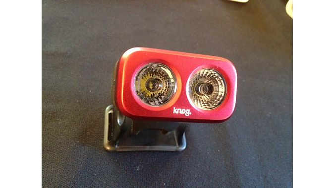 Are you lookin' at me? ... New Knog Blinder Road 3, with 300 lumens.