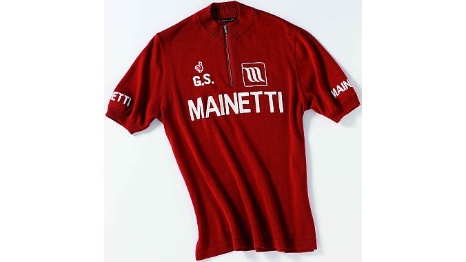 Mainetti team jersey by De Marchi