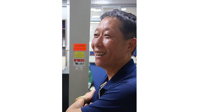 Marwi's general manager, James Huang