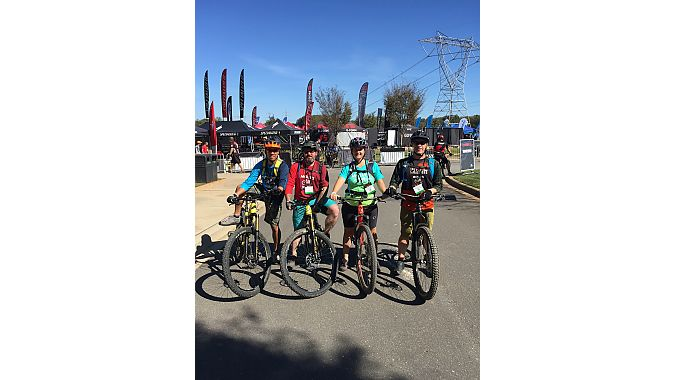 Molly's Bike Shop in Chester, Virginia, returned to the festival this year with a contingent of four for the two trade days.