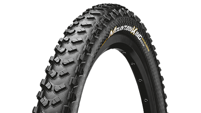 The Mountain King with Black Chili tread compound.