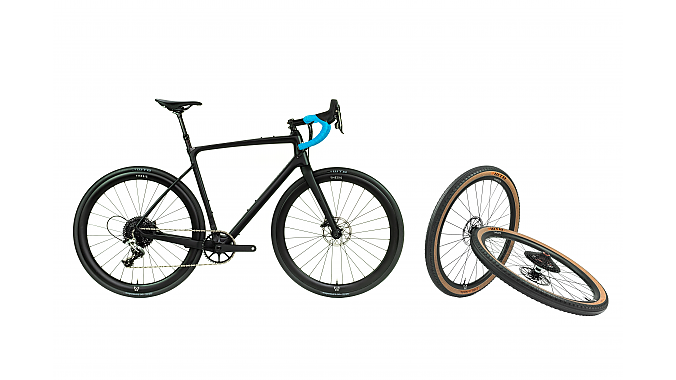 Thesis offers the option of buying a bike with an extra set of wheels.