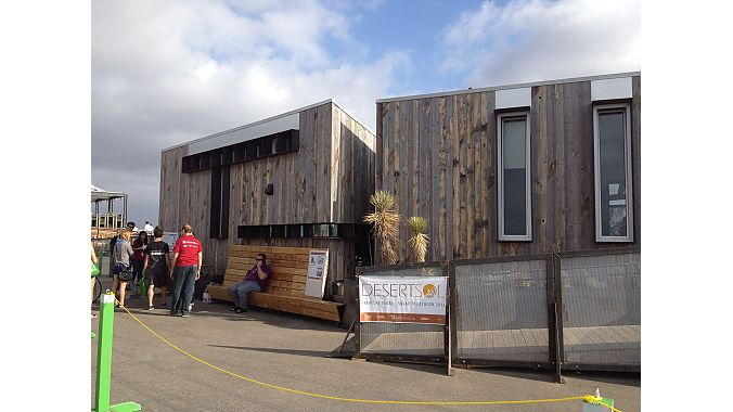 One of 20 house designs in the Solar Decathlon competition.