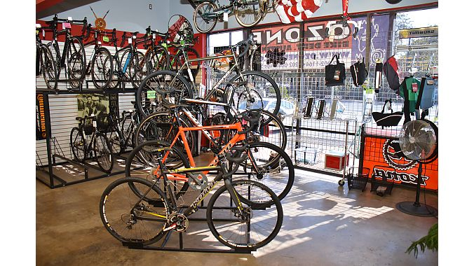 Kona was Ozone Bike Dept.'s main supplier.