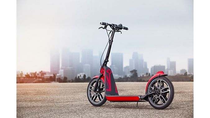 concept mini scooter gets its kick from bionx motor. Black Bedroom Furniture Sets. Home Design Ideas