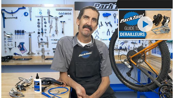 Calvin Jones, Park Tool's director of education and master mechanic, hosts the video series.