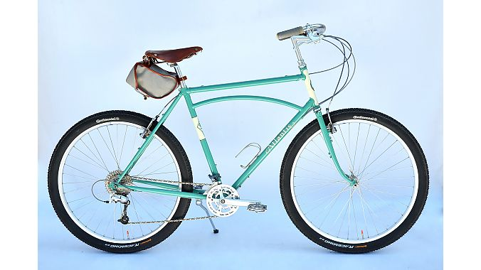 The Atlantis touring bike is a best-seller for Rivendell.