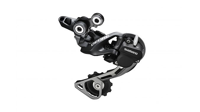 The Deore 610 rear derailleur