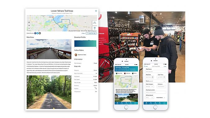 PeopleForBikes, the 20 Collective and Black River have created the Ride Guide, a web and app-based resource that is part route finder, part social network and part information library. Retailers, brands, advocacy groups, event organizers and others can use the platform to engage an audience in multiple ways.