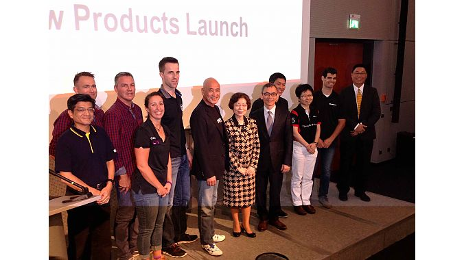 Representatives from Taiwan launched new products at Eurobike.