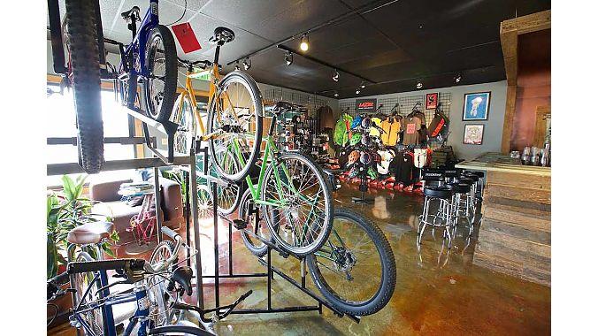 Revolution sells Surly, Raleigh, Santa Cruz and other bike brands.