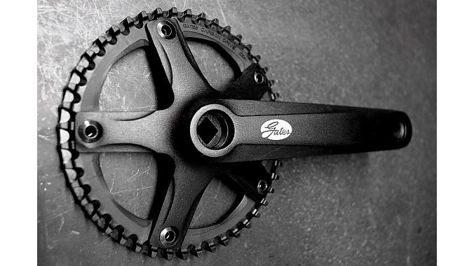 The new S150 crankset.