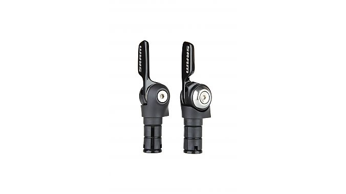 The Aero SL-500 11-speed shifter set has a traditional lever movement.