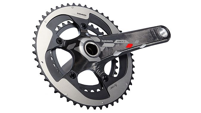The Red 22 GXP crankset