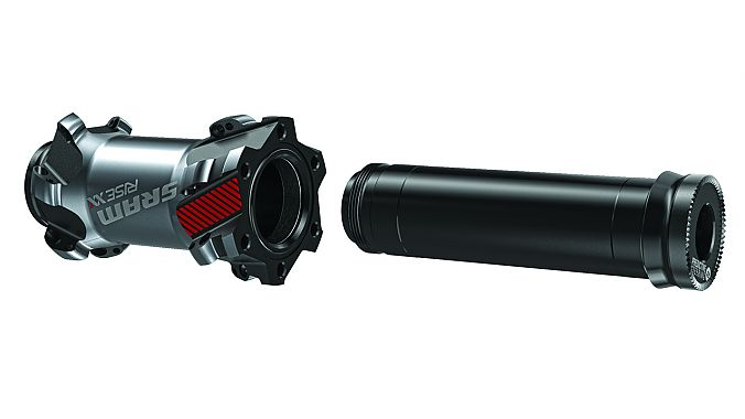 The Predictive Steering hub axles are 110 millimeters wide.