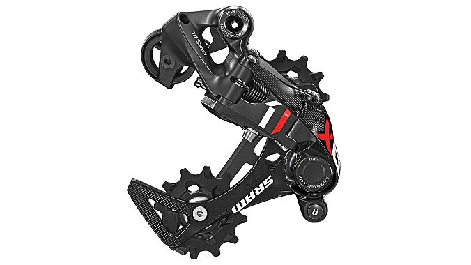 The 10-speed DH rear derailleur.