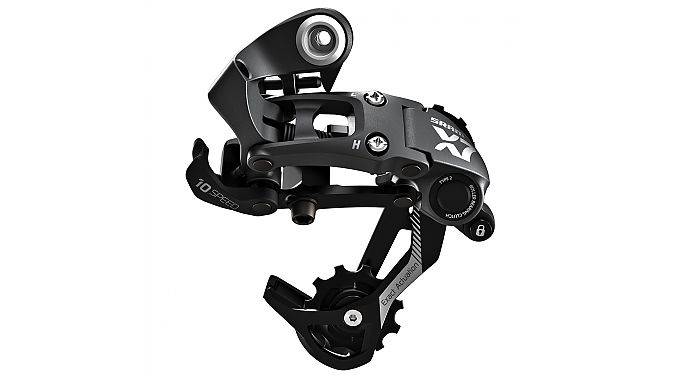 The X7 rear derailleur with Type 2