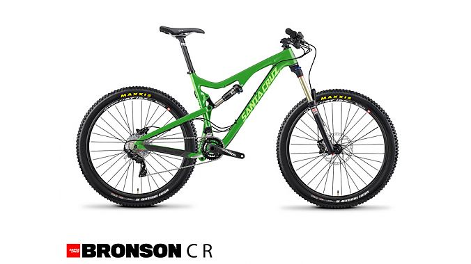 The Santa Cruz Bronson Carbon.