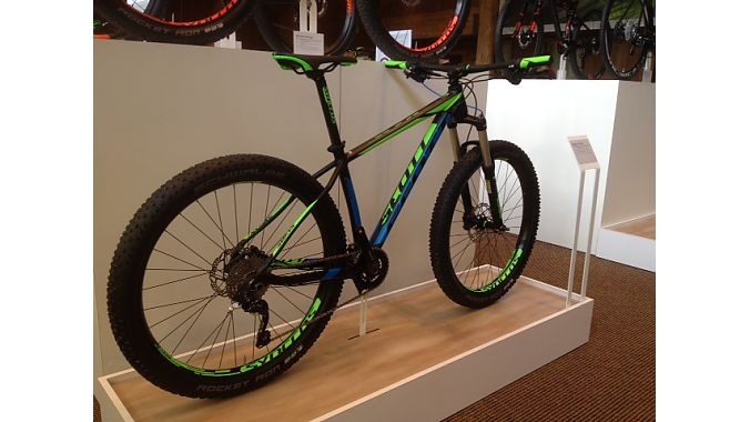 Scale Plus aluminum hardtail