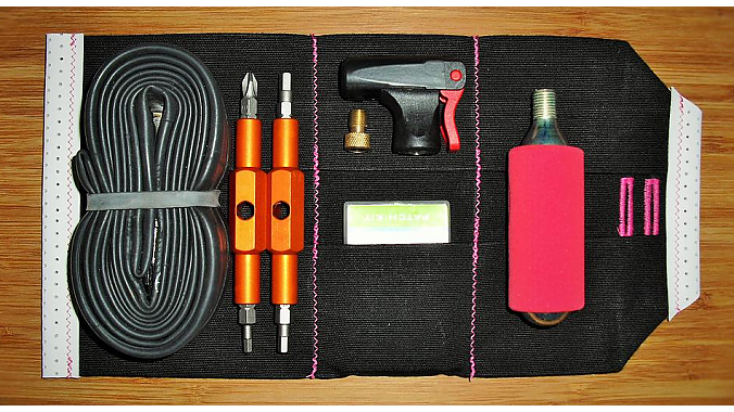 Tools and spare shown are not included.