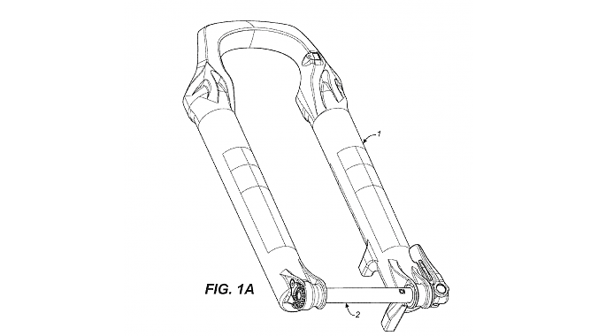 Fox is suing SRAM over thru axle and suspension patents.