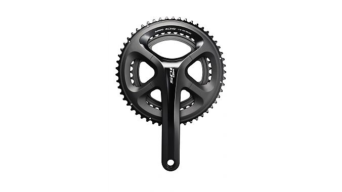 The new 105 5800 crankset.