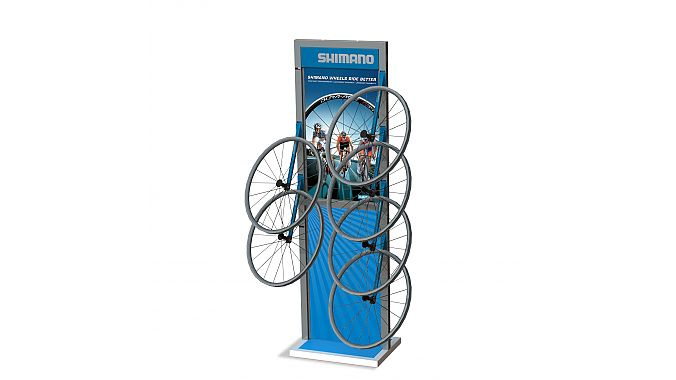 The Shimano Wheel Tower