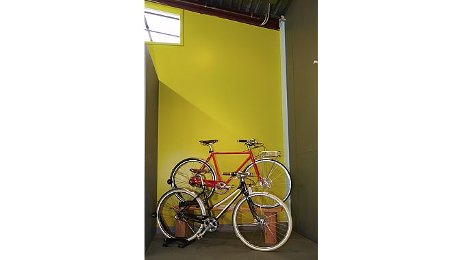 Cascade Bicycle Studio stocks some sweet custom road bikes from Seven, mountain bikes from BMC and has a pair of Shinola city bikes on display.