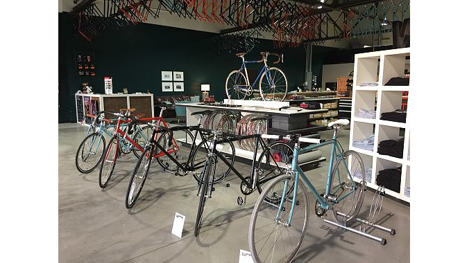 Wabi Cycles' new owners Matt Gragg and Curtis Kline moved the brand from L.A. to Tulsa, Oklahoma and opened a combination warehouse and retail space in early October.