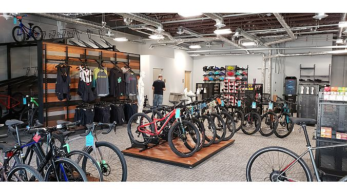 The 5,500 square-foot store caters to families and riders of all levels.