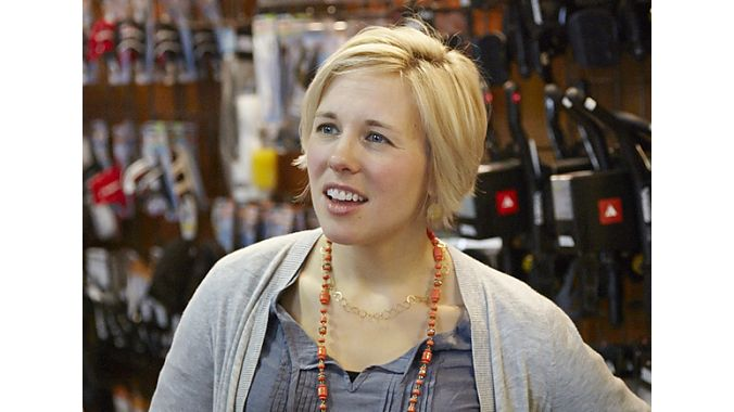 Speedy Reedy co-owner Brooke Sillers said the tri' market has softened a bit in recent years, perhaps because of the economy. Average bike prices have come down and the store has considered other areas for growth, including stocking a handful of hard-to-find ultra-distance running shoes.