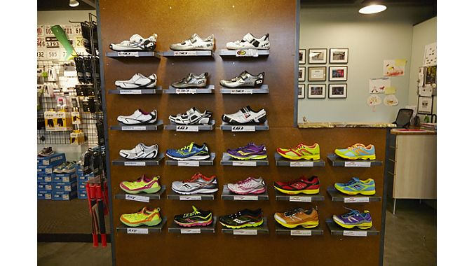 Sillers said it's been surprisingly easy to deal with running shoe suppliers, even with the store's relatively narrow selection compared to running speciality stores.
