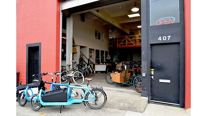 Splendid Cycles opened in new location in December.