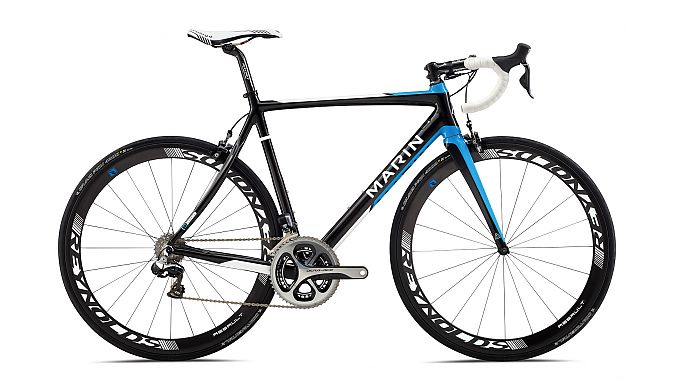 The Stelvio T3 Pro Dura-Ace Di2 road race bike