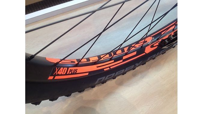 Scott produces the 40-mil rims for the 27.5-plus line through its Syncros brand.