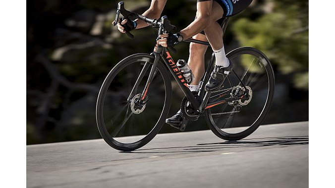 The TCR Disc in action.