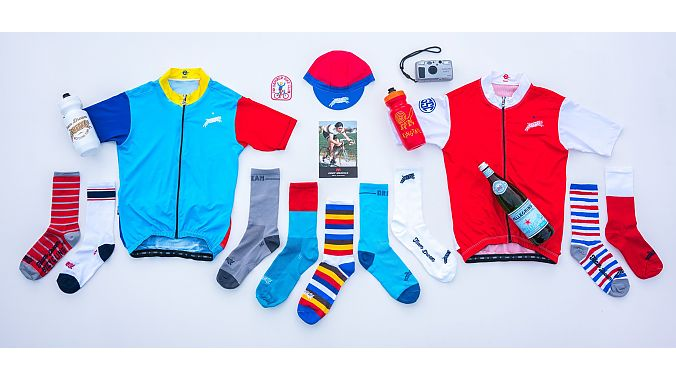 Team Dream Bicycling Team launches limited release cycling apparel and accessories a few times a year.