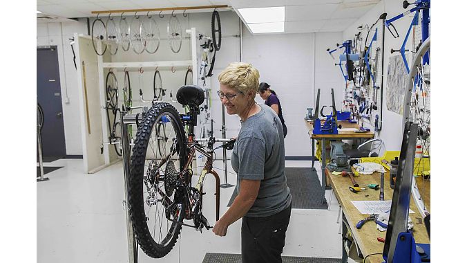 Women from 16 different REI stores traveled to Colorado Springs for the class. The Master Technician course is tailor made for REI, which has worked with BBI for more than 20 years to train its employees.