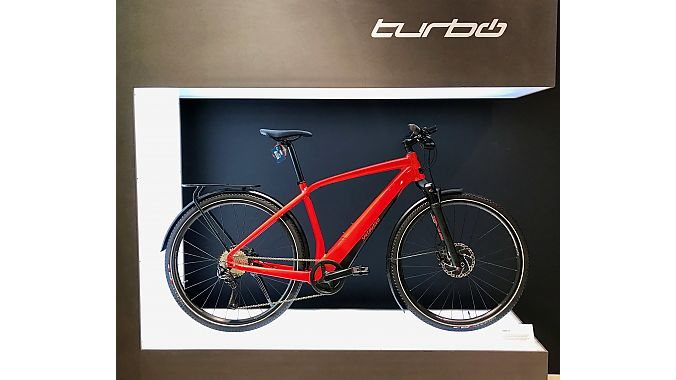 Specialized launched the Turbo Vado urban pedelec in Europe this week. Four models will be available in the U.S. starting in May and retailing from $2,700 to $4,800.