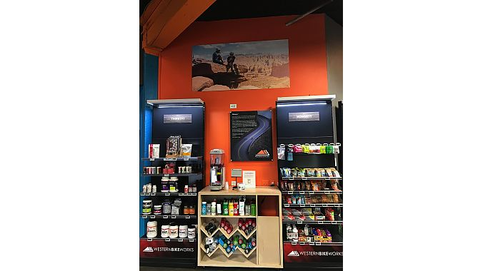 3 Dots Design reorganized the store's nutrition category by adding fixtures and creating a sample area for customers to try new products.