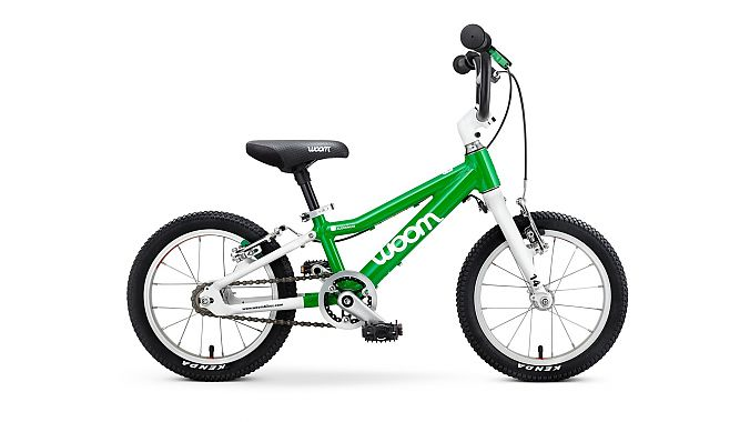 The Woom 2 14-inch-wheel model sells for $339.