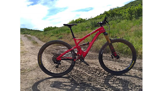 The 5-inch travel carbon Yeti Beti SB5c retails for $6,899.