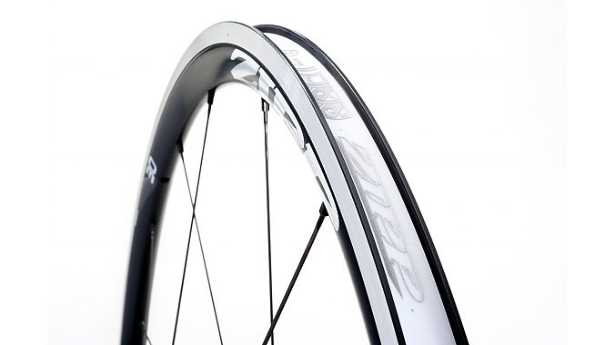 The Zipp 30 Clincher's rim bed.